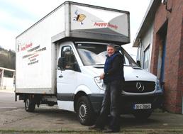 Eric delivering